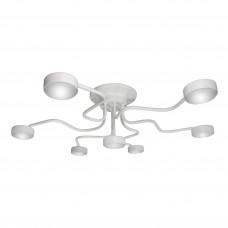 Люстра потолочная светодиодная белая российского производства ПЕТРАСВЕТ S2401-7, 7хGX53 макс. 20Вт
